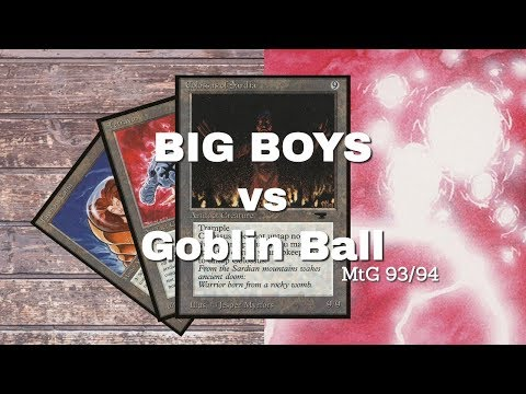 Big Boys (Don't Cry) Vs Goblin Ball   Old School Magic 93/94