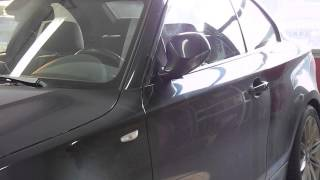 BMW 1er E82 automatisches Spiegel anklappen per Fernbedienung