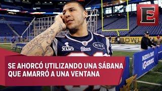 Aaron Hernández, exjugador de Patriotas, muere ahorcado en su celda