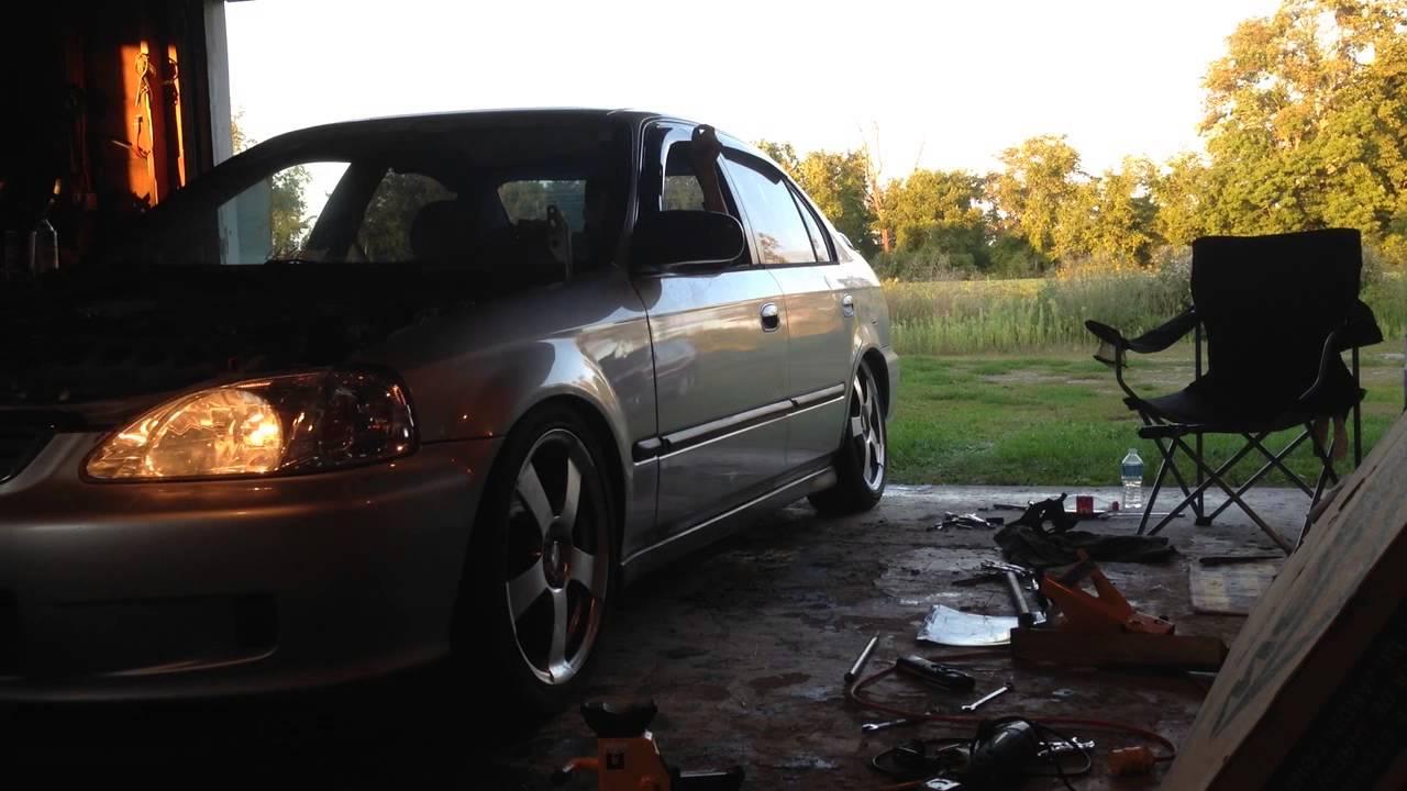 2001 honda civic lx manual transmission swap
