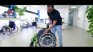 Sunrise Medical WheelDrive Elektroantrieb elektrischer Zusatzantrieb für manuelle Rollstühle