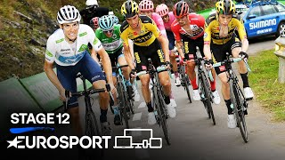 Vuelta a España - Stage 12 Highlights | Cycling | Eurosport