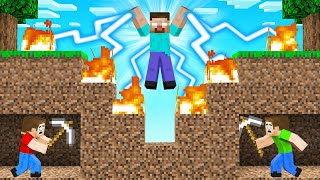 HEROBRINE vs SPEEDRUNNERS In MINECRAFT!