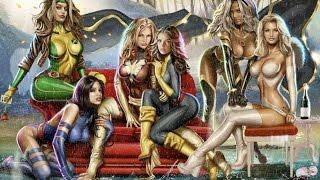 Сексуальные девушки-супергерои