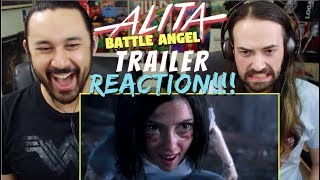 ALITA: BATTLE ANGEL | Official TRAILER REACTION!!!