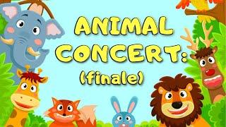 ANIMAL CONCERT (FINALE) | Kids Simple Fun | Jungle Animal Songs (2021)