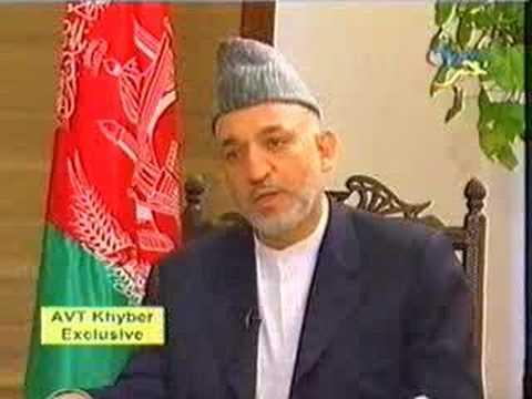 AVT Khyber TV -  Hamid Karzai Interview