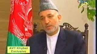 AVT Khyber TV -  Hamid Karzai Interview