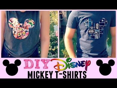Disney DIY | Mickey T-Shirts