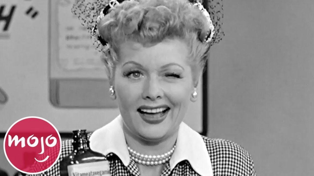 Top 10 Classic I Love Lucy Moments Youtube