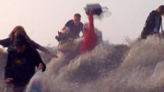Weather Caught On Camera: When Waves Attack