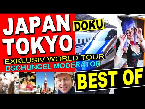 JAPAN TOKYO Best Of: Roppongi Hills Sushi Sexy Fischmarkt Kaiser Kirschblüte Snow Monkey