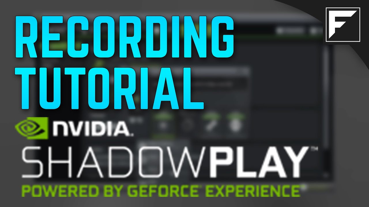 nvidia shadowplay how to watch recording