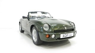 A Time-Honoured MG RV8 in Splendid Condition and Just 15,285 Miles. £24,995