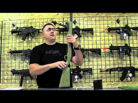 Airsoft Sniper Rifle Review APS M40 - OAT TV