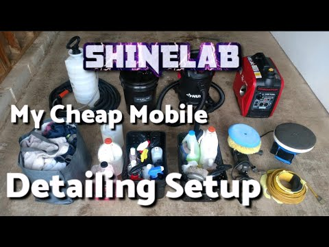 My Cheap Mobile Detailing Setup