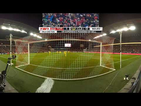 Bell VR Experience: Jozy Altidore Puts TFC Up 1-0
