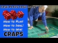 How to Play Craps - Craps for Beginners Step by Step - Introduction to Craps #1