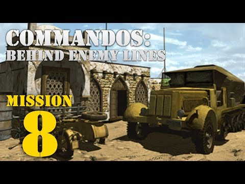 Commandos: Behind Enemy Lines -- Mission 8: Pyrotechnics