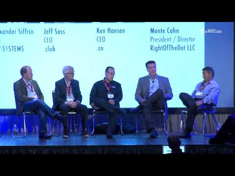 WHD.usa 2015 - What's worth a domain name: Domain name inflation or appreciation?