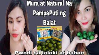 Paano PUMUTI na Walang Gastos? Natural na Pampaputi ng Balat Kalamansi at Bear Brand   Blush Rivera