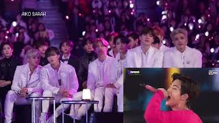 MAMA 2019 ATEEZ, UNINE reaction to BTS full performance
