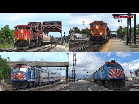 Railfanning Chicagoland - 6/17/2017