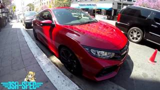 2017 Honda Civic Si Coupe Spotted at Long Beach Grand Prix
