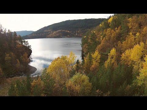 Osterøy - Høst - dronefilm