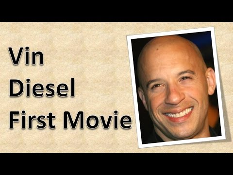 Vin Diesel First Movie - YouTube
