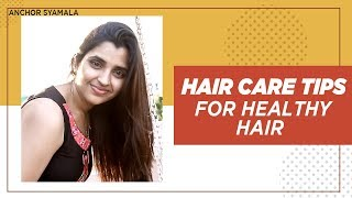 Hair Care Tips For Healthy Hair | Castor (Amudham) Oil Benefits & Uses