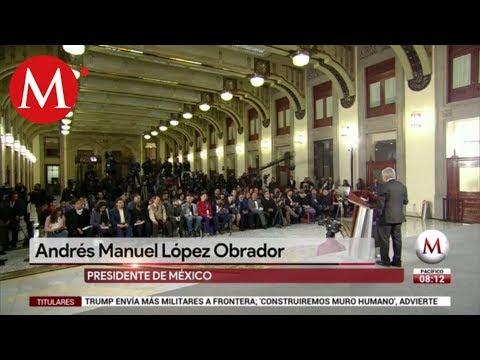 """AMLO rechaza debate con Calderón y sostiene que """"se le pasó la mano"""""""