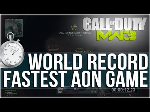 WORLD RECORD: Fastest Game of All or Nothing