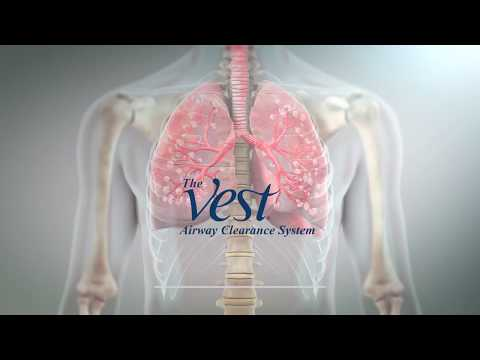 Hill-Rom | Respiratory Care | The Vest® Airway Clearance System 3D Animation Video