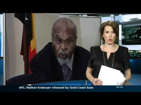 Somare reinstated as PNG PM