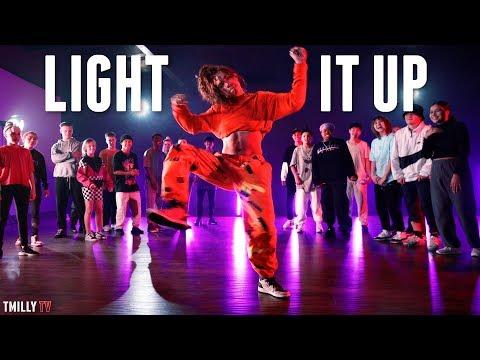 Marshmello - Light It Up ft Tyga & Chris Brown - Choreography by Natalie Bebko ft Sean Kaycee Bailey