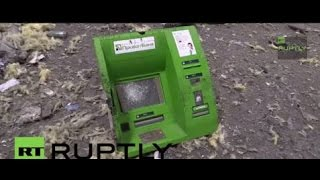 Ukraine: Metro Cash & Carry in RUINS amid shelling of Donetsk airport