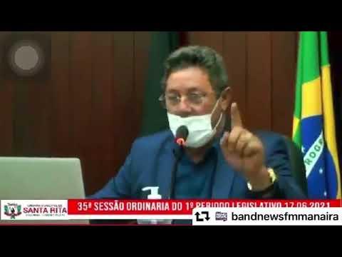"""Presidente da Câmara de Santa Rita manda vereador enfiar a língua """"naquele canto"""""""