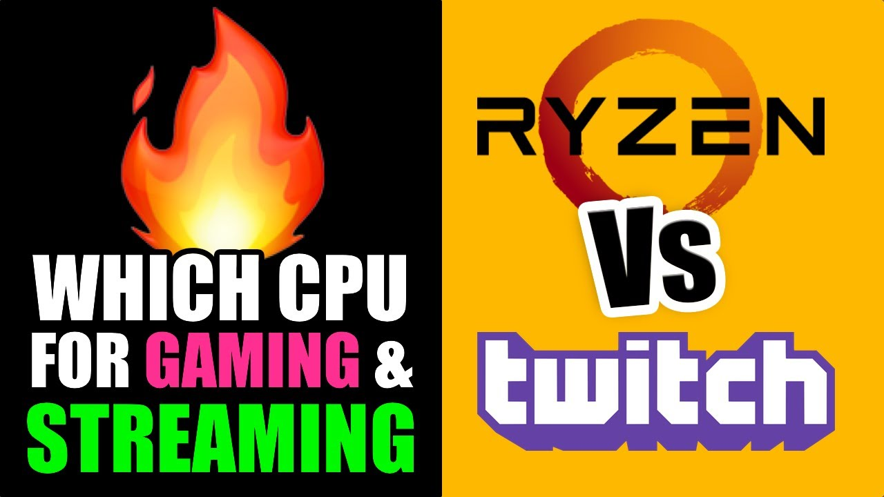 Best Cpu For Streaming 2020 Best CPU for Streaming? ALL RYZEN 5 Compared   YouTube