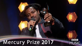 Sampha wins the Mercury Prize 2017