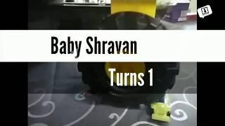 HIGHLIGHT REEL - Baby Shravan's First Birthday