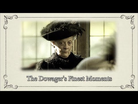 Supercuts: The Dowager's Finest Moment || Downton Abbey Special Features Bonus Video