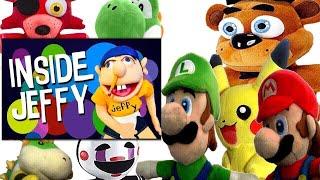 SML Movie: Inside Jeffy Mario And Luigi's Reaction (Freddy,Foxy,Pikachu,Bowser Jr & The Puppet)