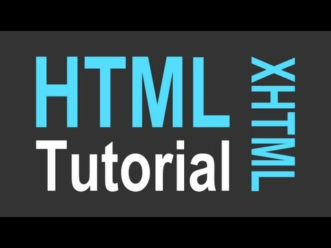 HTML Tutorial for