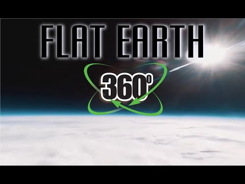 Photography from a thermal balloon 360 video 4K (FLAT EARTH) thumbnail
