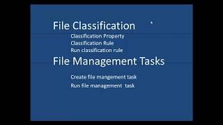 FSRM File Management Tasks - Etechtraining.com