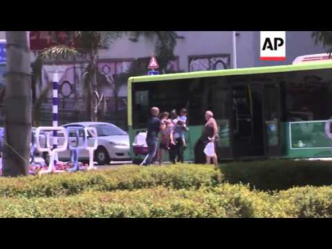 Funeral of Hamas commander's family, Iron Dome action, Israel reax