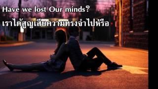 เพลงสากลแปลไทย Drenched    Wanting Lyrics & Thai Sub