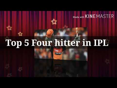 Top 5 Four hitter in IPL