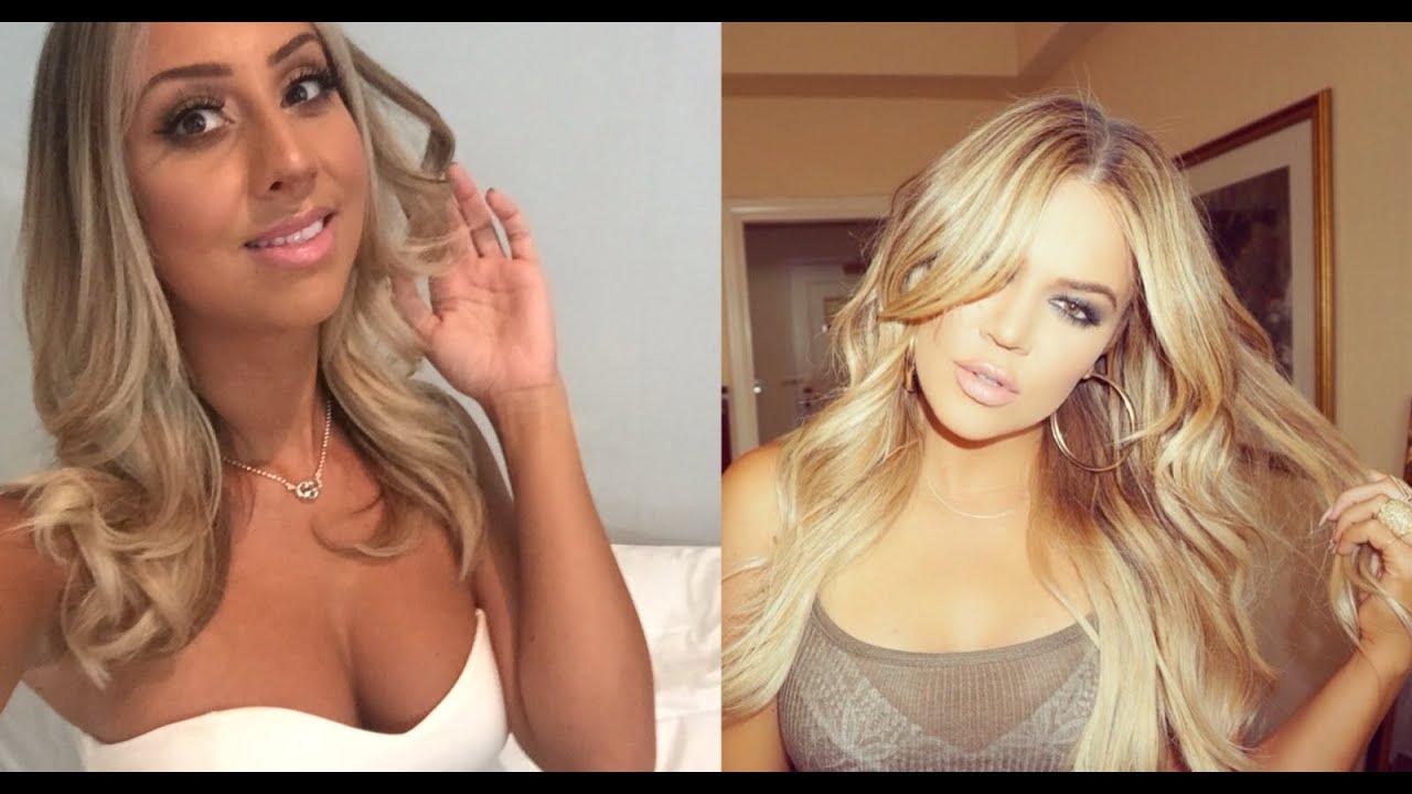 How To Khloe Kardashian Hair Dye Cut Style At Tease Hair